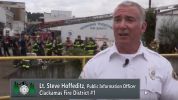 Firefighters Hold Joint Training Exercise at Blue Heron Paper Mill Site