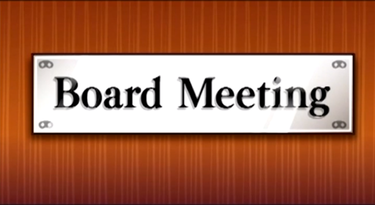 Joint Board Meeting Cancelled