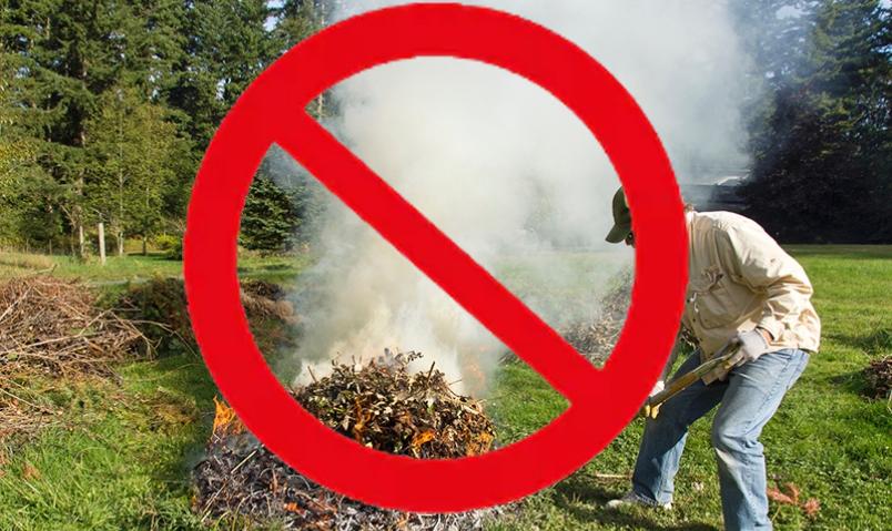 Backyard Burn Season Closed