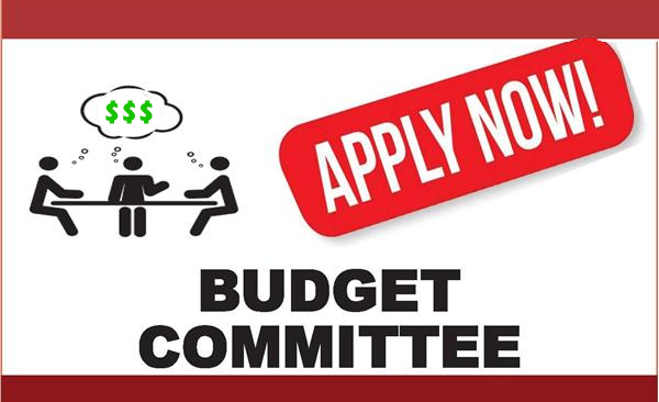 Budget Committee Application