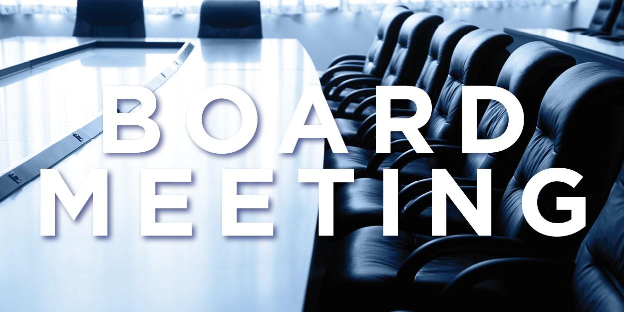 Board Meeting August 17